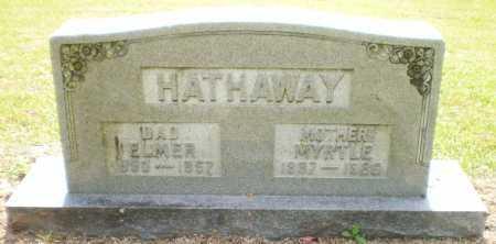 HATHAWAY, ELMER - Ashley County, Arkansas | ELMER HATHAWAY - Arkansas Gravestone Photos