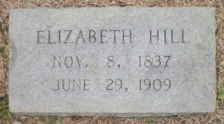 HILL, ELIZABETH - Ashley County, Arkansas | ELIZABETH HILL - Arkansas Gravestone Photos