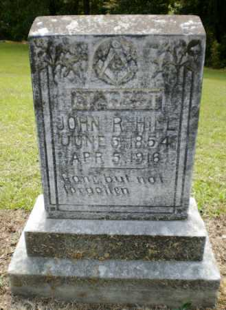 HILL, JOHN R - Ashley County, Arkansas   JOHN R HILL - Arkansas Gravestone Photos