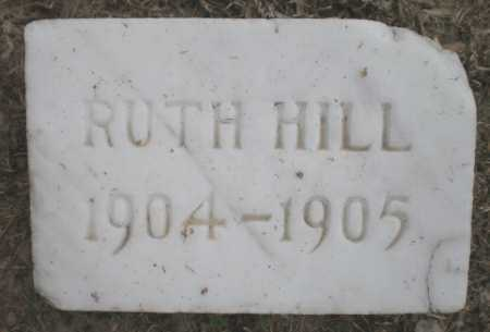 HILL, RUTH - Ashley County, Arkansas | RUTH HILL - Arkansas Gravestone Photos