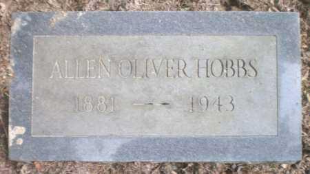 HOBBS, ALLEN OLIVER - Ashley County, Arkansas | ALLEN OLIVER HOBBS - Arkansas Gravestone Photos