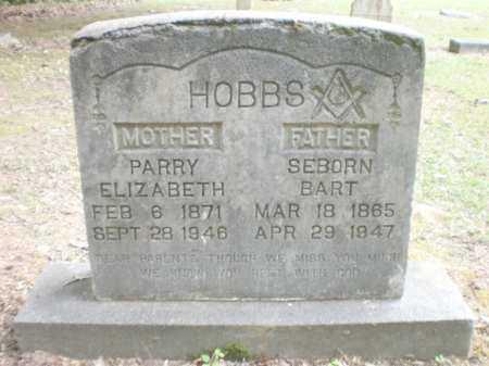 HOBBS, PARRY ELIZABETH - Ashley County, Arkansas | PARRY ELIZABETH HOBBS - Arkansas Gravestone Photos