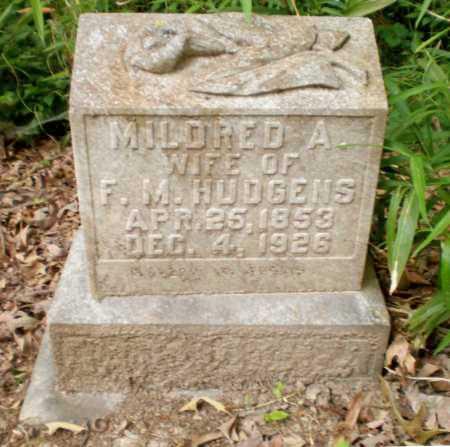 HUDGENS, MILDRED - Ashley County, Arkansas | MILDRED HUDGENS - Arkansas Gravestone Photos