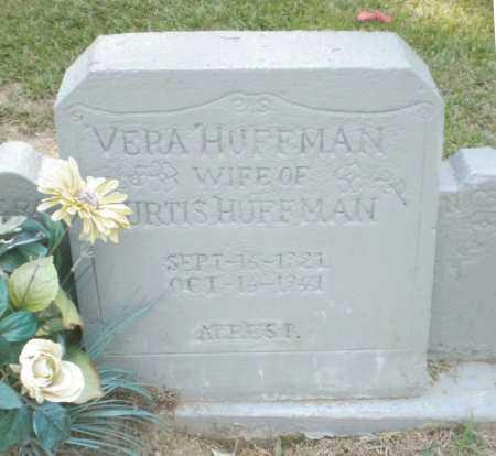 HUFFMAN, VERA - Ashley County, Arkansas | VERA HUFFMAN - Arkansas Gravestone Photos