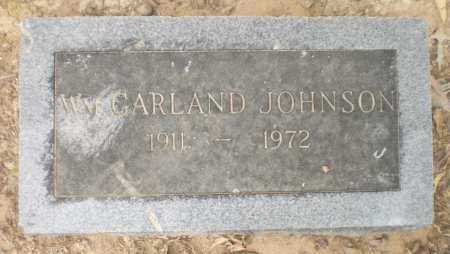 JOHNSON, WILLIAM GARLAND - Ashley County, Arkansas | WILLIAM GARLAND JOHNSON - Arkansas Gravestone Photos