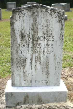 JONES, J W - Ashley County, Arkansas | J W JONES - Arkansas Gravestone Photos