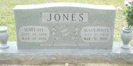 JONES, SCOTT LEE - Ashley County, Arkansas | SCOTT LEE JONES - Arkansas Gravestone Photos