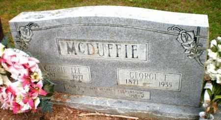 MCDUFFIE, GEORGE T - Ashley County, Arkansas | GEORGE T MCDUFFIE - Arkansas Gravestone Photos