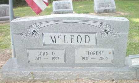 MCLEOD, FLORENE - Ashley County, Arkansas | FLORENE MCLEOD - Arkansas Gravestone Photos
