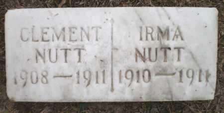NUTT, CLEMENT - Ashley County, Arkansas | CLEMENT NUTT - Arkansas Gravestone Photos