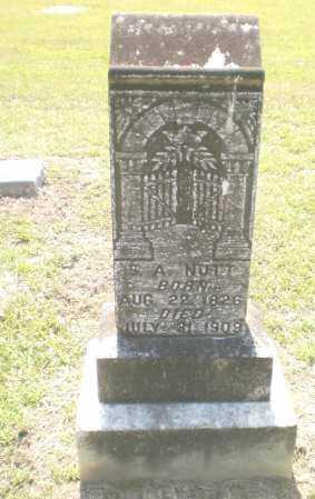 NUTT, S A - Ashley County, Arkansas   S A NUTT - Arkansas Gravestone Photos