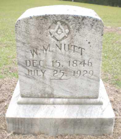 NUTT, W M - Ashley County, Arkansas | W M NUTT - Arkansas Gravestone Photos