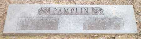 SPURLOCK  PAMPLIN, THULAR - Ashley County, Arkansas | THULAR SPURLOCK  PAMPLIN - Arkansas Gravestone Photos