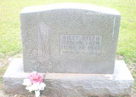 RALPH, BILLY - Ashley County, Arkansas | BILLY RALPH - Arkansas Gravestone Photos