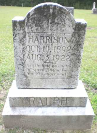 RALPH, HARRISON - Ashley County, Arkansas | HARRISON RALPH - Arkansas Gravestone Photos