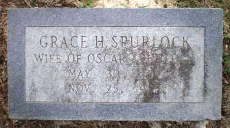 SPURLOCK, GRACE H - Ashley County, Arkansas | GRACE H SPURLOCK - Arkansas Gravestone Photos