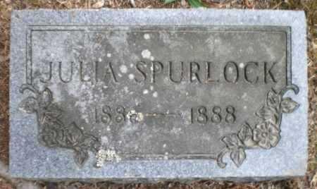 SPURLOCK, JULIA - Ashley County, Arkansas | JULIA SPURLOCK - Arkansas Gravestone Photos