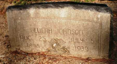 JOHNSON, BEULAH - Ashley County, Arkansas   BEULAH JOHNSON - Arkansas Gravestone Photos