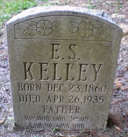 KELLEY, E S - Ashley County, Arkansas | E S KELLEY - Arkansas Gravestone Photos