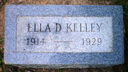 KELLEY, ELLA D - Ashley County, Arkansas | ELLA D KELLEY - Arkansas Gravestone Photos