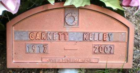 KELLEY, GARNETT - Ashley County, Arkansas | GARNETT KELLEY - Arkansas Gravestone Photos