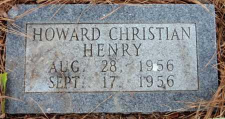 HENRY, HOWARD CHRISTIAN - Ashley County, Arkansas | HOWARD CHRISTIAN HENRY - Arkansas Gravestone Photos