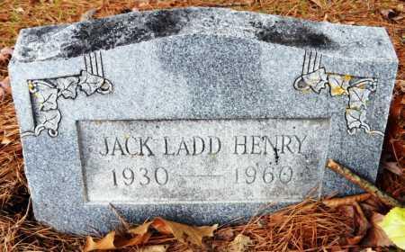 HENRY, JACK LADD - Ashley County, Arkansas | JACK LADD HENRY - Arkansas Gravestone Photos