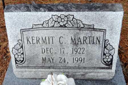 MARTIN, KERMIT C - Ashley County, Arkansas | KERMIT C MARTIN - Arkansas Gravestone Photos