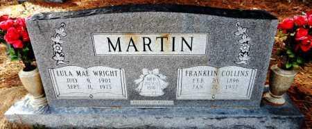 WRIGHT MARTIN, LULA MAE - Ashley County, Arkansas | LULA MAE WRIGHT MARTIN - Arkansas Gravestone Photos