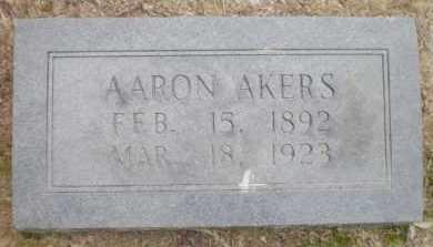 AKERS, AARON - Ashley County, Arkansas | AARON AKERS - Arkansas Gravestone Photos