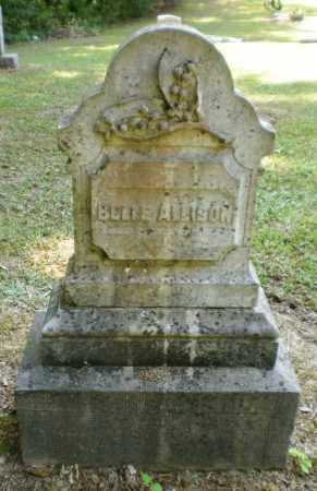 ALLISON, BELLE (FRONT) - Ashley County, Arkansas | BELLE (FRONT) ALLISON - Arkansas Gravestone Photos