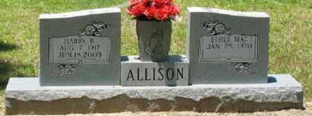 ALLISON, ETHEL MAE - Ashley County, Arkansas | ETHEL MAE ALLISON - Arkansas Gravestone Photos