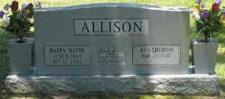 ALLISON, HARRY WAYNE - Ashley County, Arkansas | HARRY WAYNE ALLISON - Arkansas Gravestone Photos