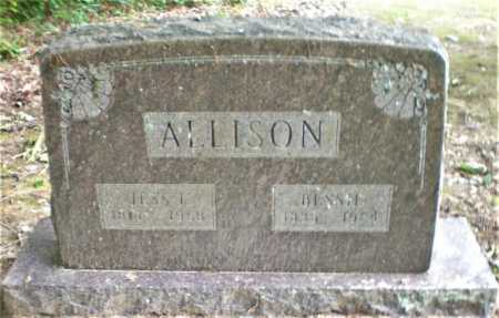 ALLISON, JESS I - Ashley County, Arkansas | JESS I ALLISON - Arkansas Gravestone Photos