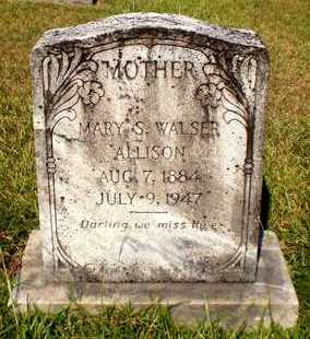 WALSER, MARY S - Ashley County, Arkansas | MARY S WALSER - Arkansas Gravestone Photos