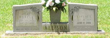 HEINTZELMAN ALLISON, LORLIE E - Ashley County, Arkansas | LORLIE E HEINTZELMAN ALLISON - Arkansas Gravestone Photos