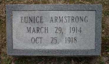 ARMSTRONG, EUNICE - Ashley County, Arkansas | EUNICE ARMSTRONG - Arkansas Gravestone Photos