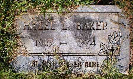 BAKER, HAZEL L - Ashley County, Arkansas | HAZEL L BAKER - Arkansas Gravestone Photos