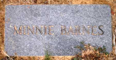 CAPERS BARNES, MINNIE - Ashley County, Arkansas | MINNIE CAPERS BARNES - Arkansas Gravestone Photos