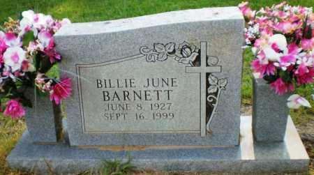 BARNETT, BILLIE JUNE - Ashley County, Arkansas | BILLIE JUNE BARNETT - Arkansas Gravestone Photos
