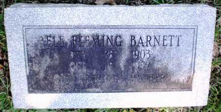 FLEMING BARNETT, ALICE BELL (FOOTSTONE) - Ashley County, Arkansas | ALICE BELL (FOOTSTONE) FLEMING BARNETT - Arkansas Gravestone Photos