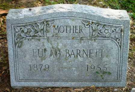 BARNETT, EULAH - Ashley County, Arkansas | EULAH BARNETT - Arkansas Gravestone Photos