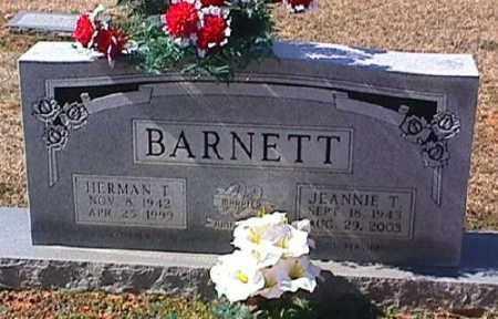 BARNETT, JEANNIE T. - Ashley County, Arkansas | JEANNIE T. BARNETT - Arkansas Gravestone Photos