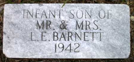 BARNETT, INFANT SON - Ashley County, Arkansas | INFANT SON BARNETT - Arkansas Gravestone Photos