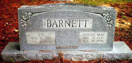 BARNETT BARNETT, JESSIE MAE - Ashley County, Arkansas | JESSIE MAE BARNETT BARNETT - Arkansas Gravestone Photos