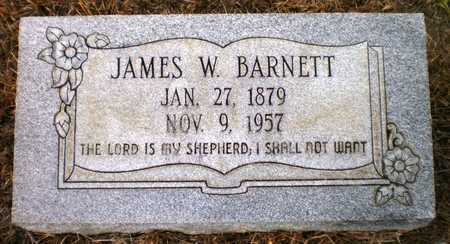 BARNETT, JAMES W - Ashley County, Arkansas | JAMES W BARNETT - Arkansas Gravestone Photos