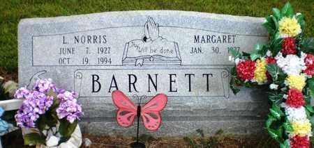 BARNETT, L NORRIS - Ashley County, Arkansas   L NORRIS BARNETT - Arkansas Gravestone Photos