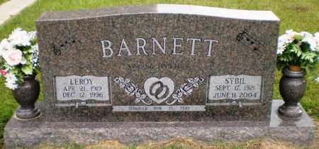 BARNETT, LEROY - Ashley County, Arkansas | LEROY BARNETT - Arkansas Gravestone Photos