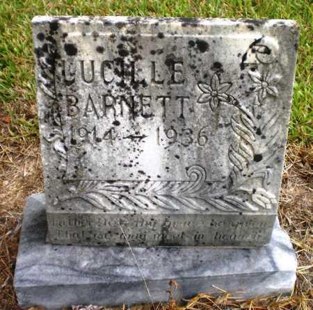 BARNETT, LUCILLE - Ashley County, Arkansas | LUCILLE BARNETT - Arkansas Gravestone Photos