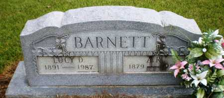 BARNETT, LUCY D - Ashley County, Arkansas | LUCY D BARNETT - Arkansas Gravestone Photos